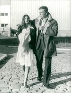 Yves Montand together with his respective