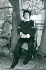 Christine Beranger-Goitschel sitting on chair.