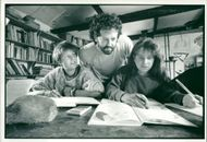 Schools 1988:Casper and chris hurn.