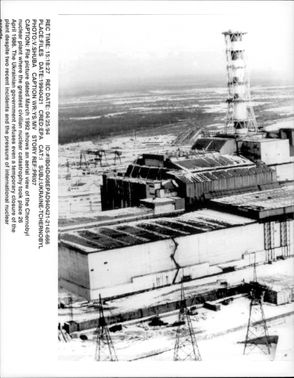 Chernobyl six years after the accident.