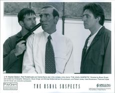 """1995 A scene from the American neo-noir[3] mystery crime thriller film """"The Usual Suspects""""."""