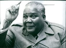 Portrait of Johua Nkomo, 1977.