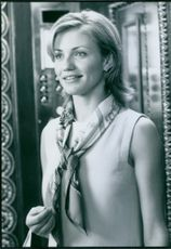 """A photo of Cameron Diaz as Kimberly in the film """"My Best Friend's Wedding"""". 1997."""