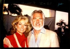 Kenny Rogers and his wife, Marianne.