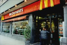 McDonald's restaurant on Hornsgatan