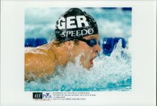 OS in Atlanta 1996. The German Swimmer Chris Carol Bremer