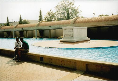 Dr. Martin Luther King's grave.