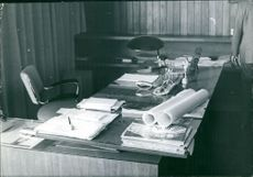 An office table of a high rank officia in Irak.