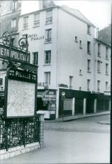 A view of hotel Pigall's.