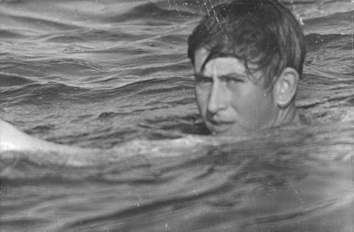 Prince Charles on the water.