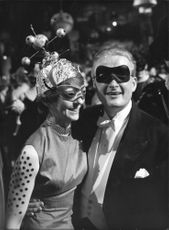 Opera Masquerade, wife Joyce and Mr Svennling