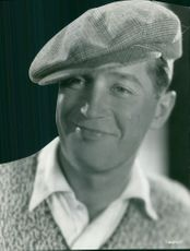 Portrait of Maurice Chevalier.