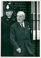 Viscount William Whitelaw at 10 Downing Street