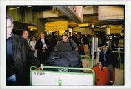 Other Agassi at Paris Airport.