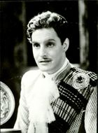 """British actor Robert Donat in the movie """"Ghost Traveling West""""."""