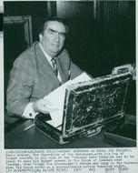 Denis Healey is getting ready to present this year's budget