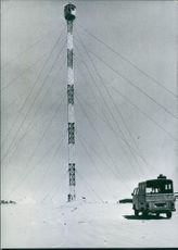 A view of Israeli Observation Tower. 1975.