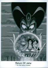 """A poster of the movie """"Return of Jafar""""."""