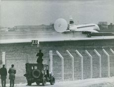 An airplane is about to take off. 1969