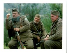 Rebel Bosnian Muslim soldiers loyal to Fikret Abdic.