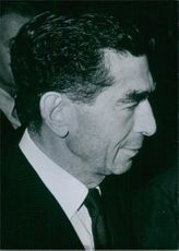 Portrait of John L. Loeb, Banker and broker; Senior Partner of Carl M. Losb, New York since 1955. He was born on 1902.