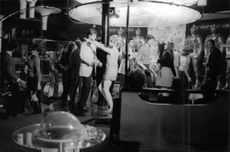 Carroll Baker dancing with a man.