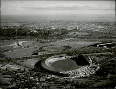 View of Melbourne's Olympic Arena, Melbourne Cricket Ground