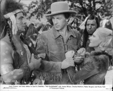 "Gary Cooper i filmen ""The plainsman"""