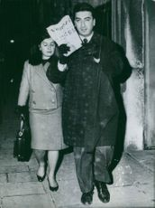A vampire in Venice - Clara Zema, after a talk at the police station.