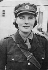 Winston Churchill's daughter Mary Soames in uniform.