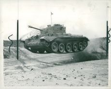WW2 The Cromwell tank, official name Cruiser, Mk VIII