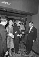 The Duke and Duchess of Windsor arriving at an event.