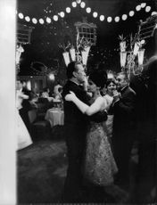 Pascale Petit and Kirk Douglas dancing