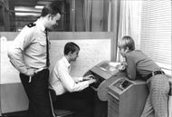 The boys who stopped the burglar thief may try Vällingby station telex machine during visits to police