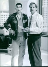 """Jeffrey Warren """"Jeff"""" Daniels and Michael Anthony Richards in the movie Trial and Error."""
