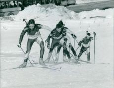 Biathlon squad 1992 Winter Olympics.