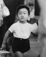 Naruhito, Crown Prince of Japan  born 23 February 1960  is the eldest son of Emperor Akihito and Empress Michiko, which makes him the heir apparent to the Chrysanthemum Throne.