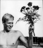 Portrait image of Gunnar Larsson taken in an unknown context.