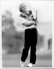 Golf player Greg Norman