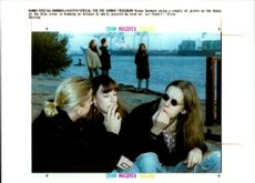 Young German enjoy a couple of joints in the banks.