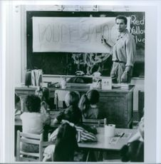 Arnold Schwarzenegger stars as John Kimble in Kindergarten Cop.