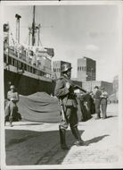 A Military Personnel Posted in Oslo Port During the German Invasion