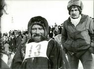 Portrait image of a driver who participated in the competition in Murmansk.