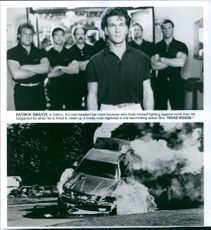 Scenes from the movie Road House with Patrick Swayze, 1992.