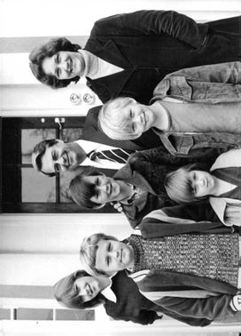 Donald James Woods with his family.
