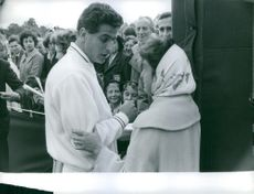 Pierre Darmon (born 14 January 1934) is a French former tennis player.