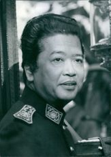 Portrait of M. Phanga Inpeng Suryadhay The Ambassador of Laos in London since October 1970.