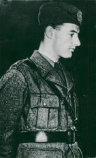 Portrait image of Raoul Wallenberg taken in an unknown context 1944.