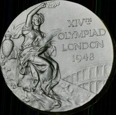 XIV Olympic Medal London -1948.