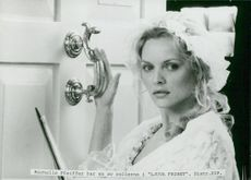 """Michelle Pfeiffer in the movie """"Sweet Freedom"""""""